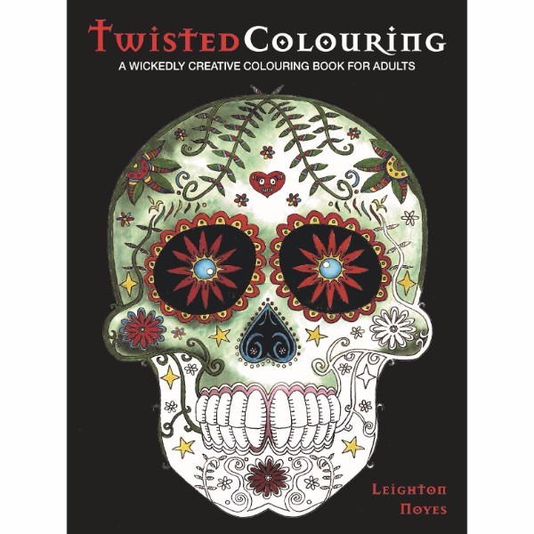 ISBN 9780992792350 Twisted Colouring No Colour