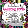 ISBN 9781617455421 Awesome Town Coloring Poster Book