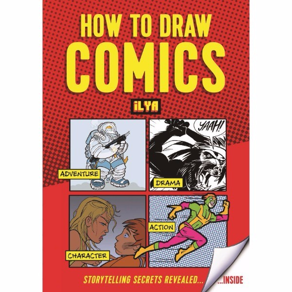 ISBN 9781910552292 How to Draw Comics No Colour