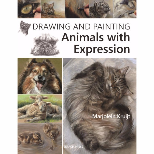 ISBN 9781782213215 Drawing and Painting Animals with Expression No Colour
