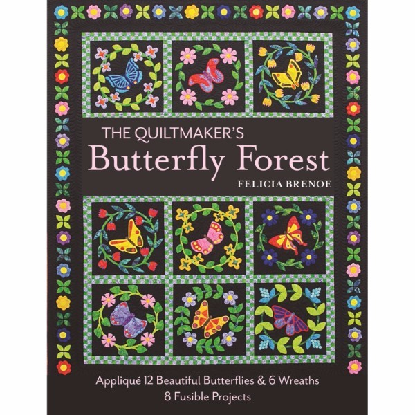 ISBN 9781617453588 The Quiltmaker's Butterfly Forest No Colour
