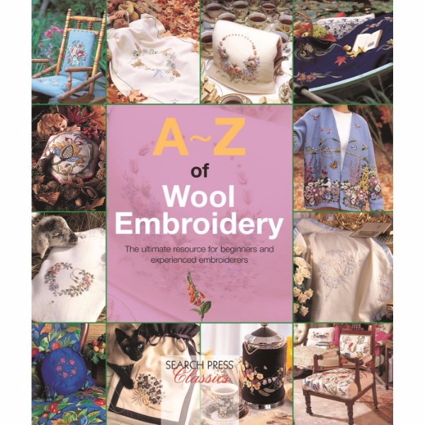 ISBN 9781782211808 A-Z of Wool Embroidery No Colour