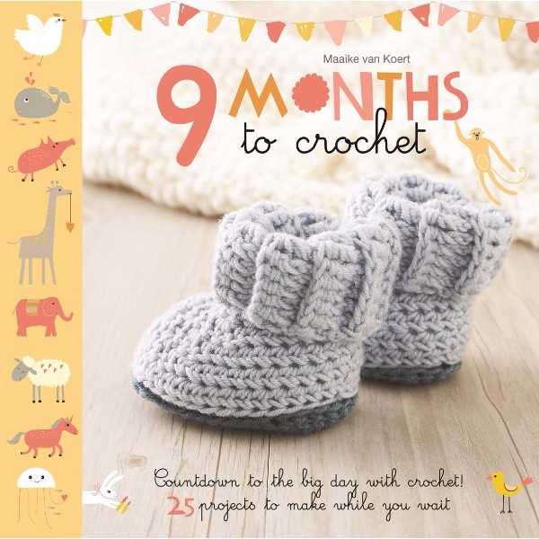 ISBN 9781845436599 9 Months to Crochet No Colour