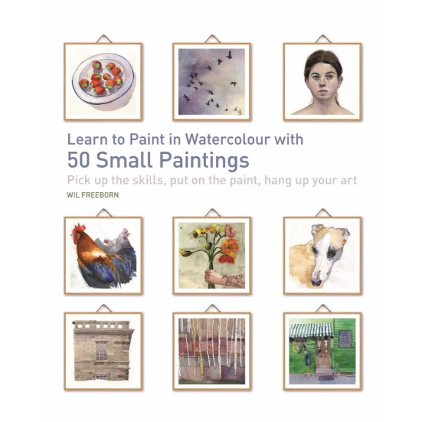 ISBN 9781782214397 Learn to Paint in Watercolour with 50 Small Paintings No Colour