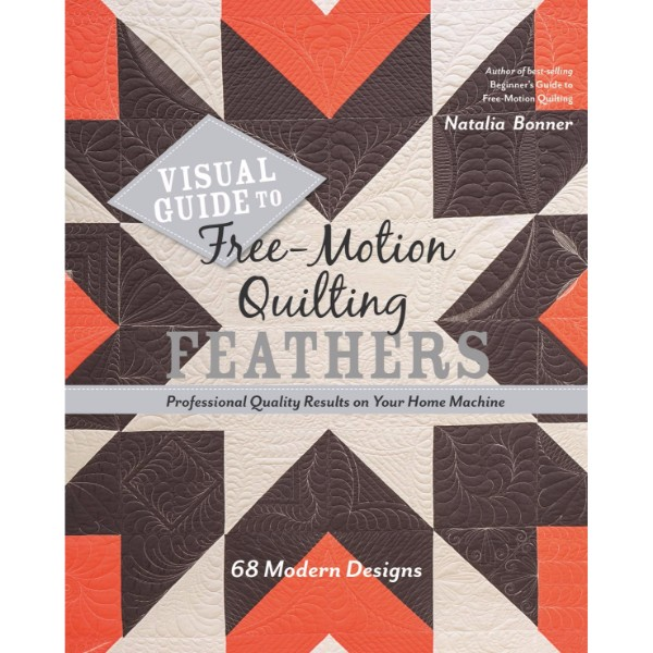 ISBN 9781617455063 Visual Guide to Free-Motion Quilting Feathers No Colour