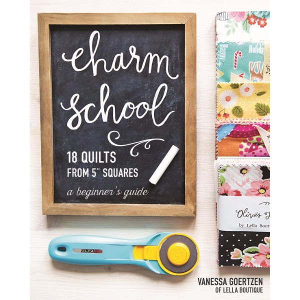 "ISBN 9781617452710 Charm School - 18 Quilts from 5""Squares No Colour"