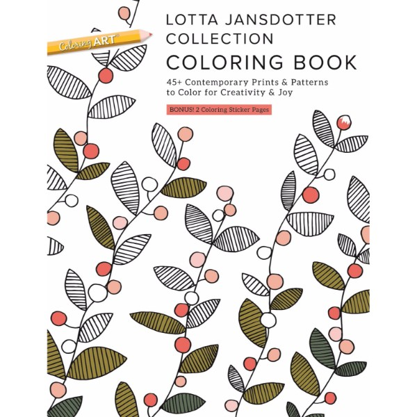 ISBN 9781617455339 Lotta Jansdotter Collection Coloring Book No Colour