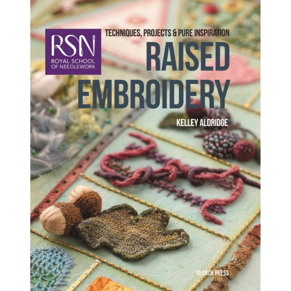 ISBN 9781782211891 RSN Raised Embroidery No Colour
