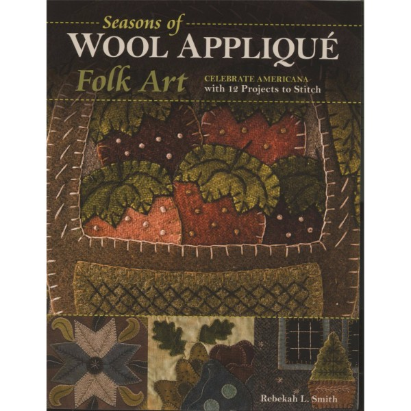 ISBN 9781617454806 Seasons of Wool Applique Folk Art No Colour