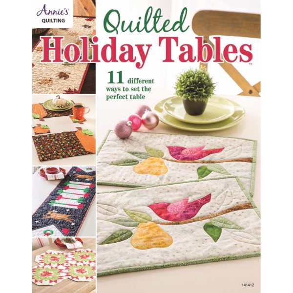 ISBN 9781590128466 Quilted Holiday Tables No Colour