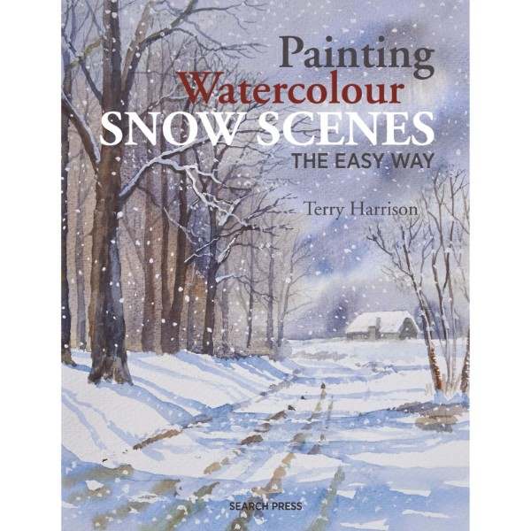 Painting Watercolour Snow Scenes the Easy Way No Colour