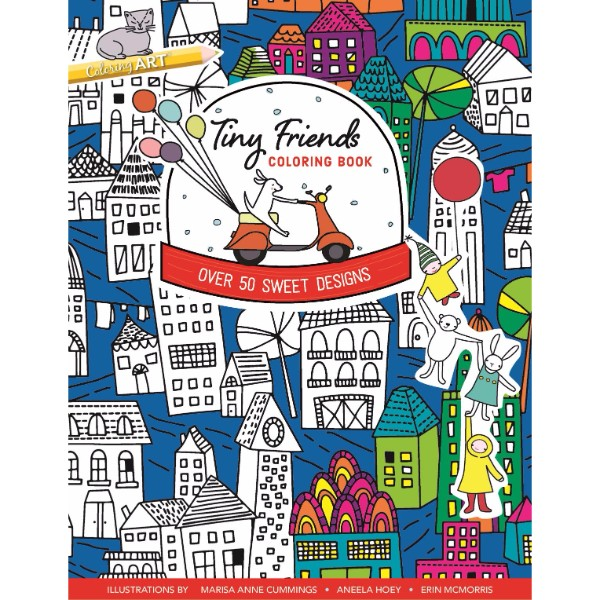 ISBN 9781617454394 Tiny Friends Coloring Book No Colour