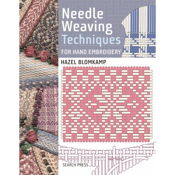 Needle Weaving Techniques for Hand Embroidery No Colour