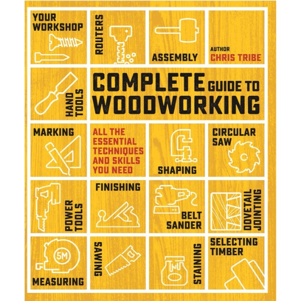 ISBN 9781782215714 Complete Guide to Woodworking No Colour
