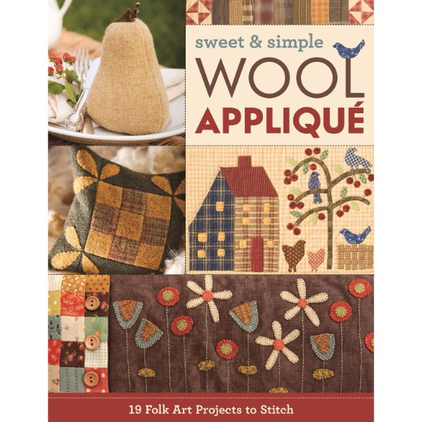 ISBN 9781617456176 Sweet & Simple Wool Applique No Colour