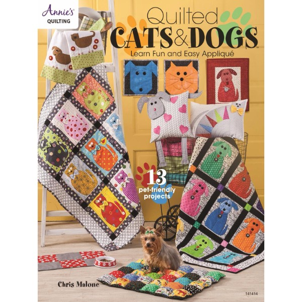 ISBN 9781590128640 Quilted Cats & Dogs No Colour
