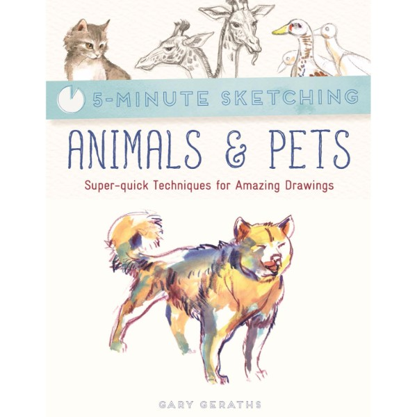 ISBN 9781782215929 5-Minute Sketching Animals & Pets No Colour