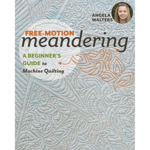 ISBN 9781617455209 Free-Motion Meandering No Colour