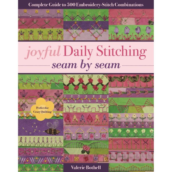 ISBN 9781617455513 Joyful Daily Stitching - Seam by Seam No Colour