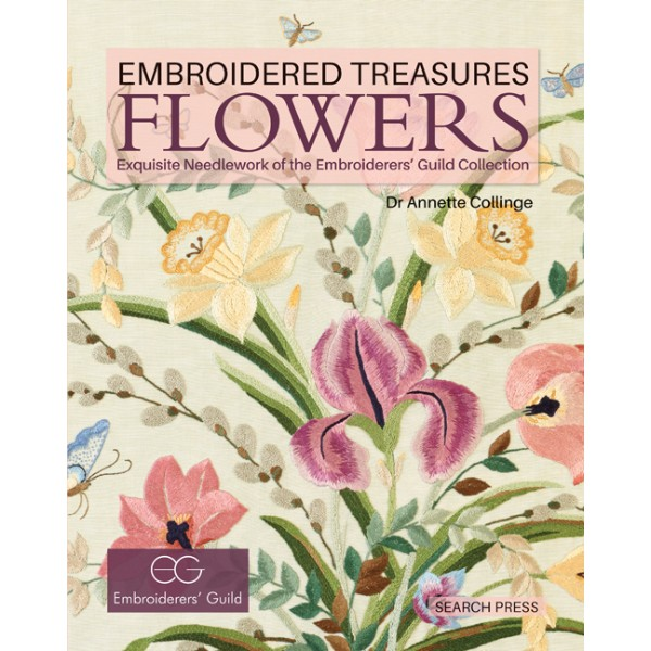ISBN 9781782211310 Embroidered Treasures Flowers No Colour