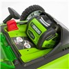Greenworks 40cm 40V Cordless Lawn Mower with Greenworks 40v 4.0Ah Lithium-Ion Battery and Charger