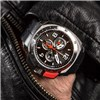 Aviator Swiss Gents Limited Edition with front Button Chronograph Watch with Interchangeable strap