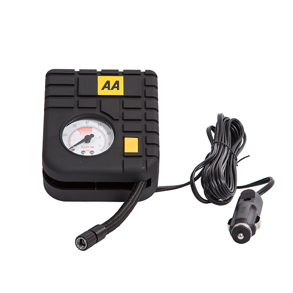 AA 12V Mini Tyre Inflator No Colour