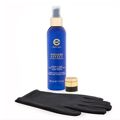 Elizabeth Grant Watch It Fade Hand Treatment (Hand Cream 220ml, 2 x Concealer 4ml, Glove)