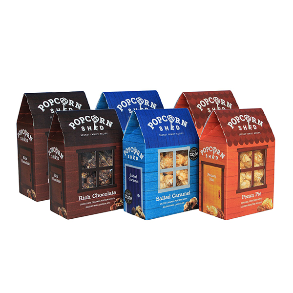 Popcorn Shed Gourmet 6 piece selection No Colour