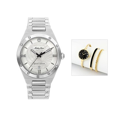 Mathey-Tissot Elisir LE with Case and FREE Ladies' Watch