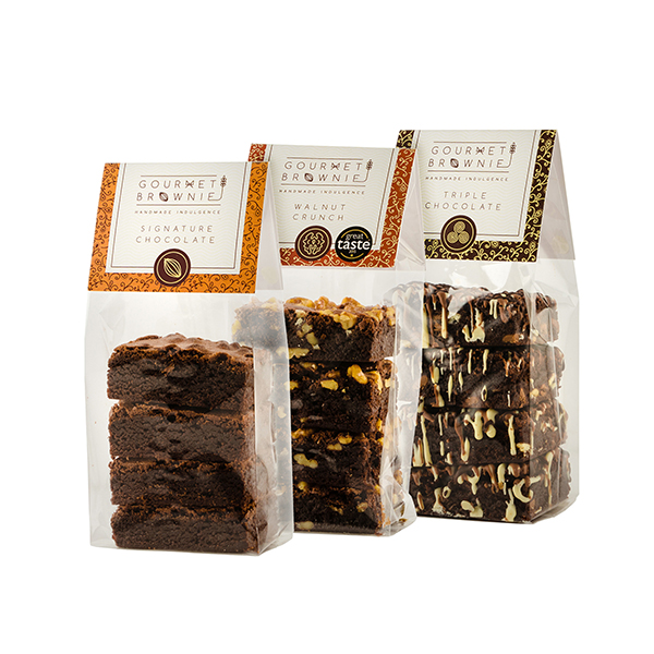 Gourmet Brownie Signature 12 Piece Selection No Colour
