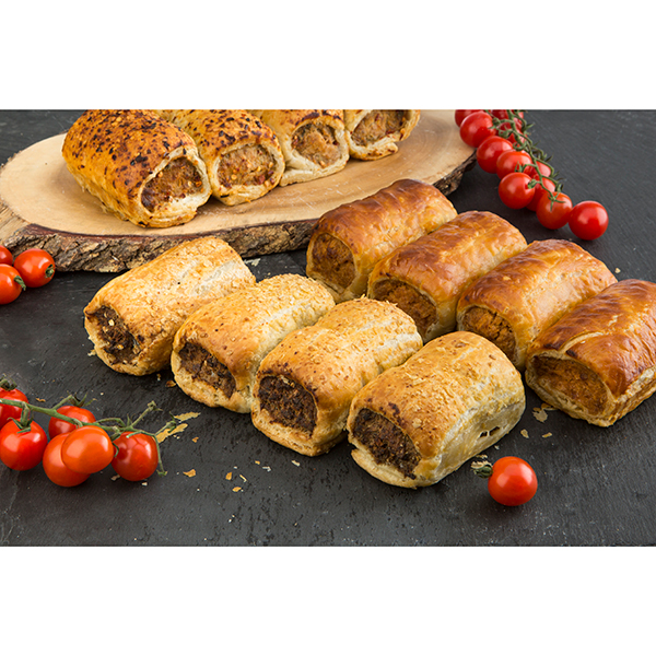 Coopers Gourmet Sausage Rolls 12 Piece Variety Selection No Colour