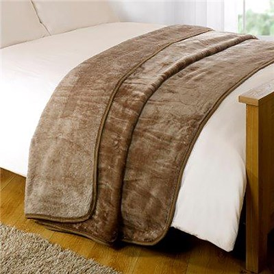 Mink Design Bed Throw 200 x 240cm