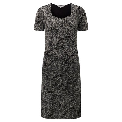 Lavitta Autumn Lace Shutter Dress 41in