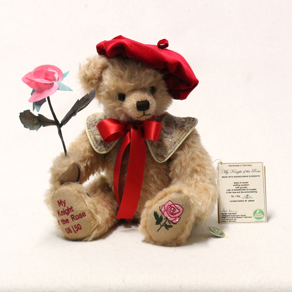 My Knight of the Rose Bear by HERMANN - Spielwaren No Colour