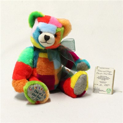 Colour and Design - One of a Kind Bear by HERMANN - Spielwaren