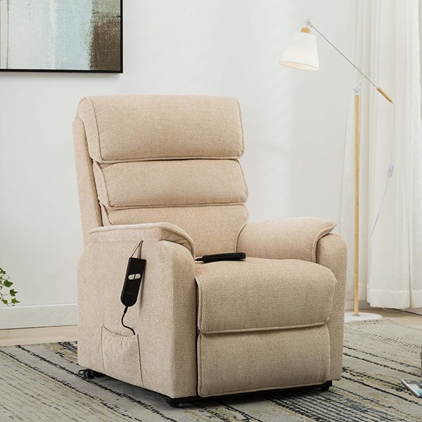 Henley Rise and Recliner with Heat and Massage Beige