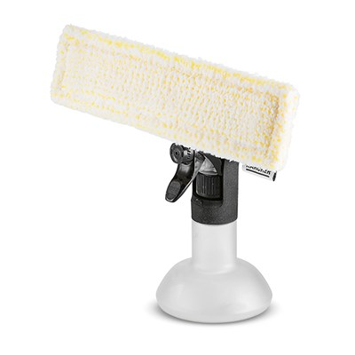 Karcher Window Vac Spray Bottle with Microfibre Head
