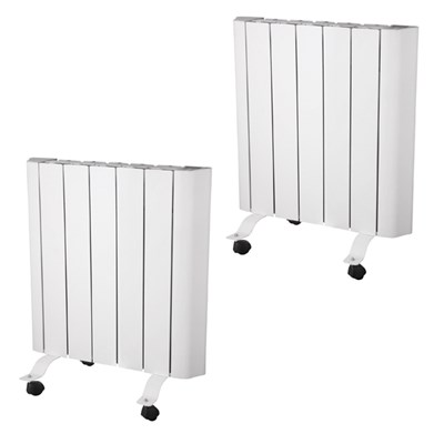 Two EEPC 1000w Ceramic Radiator with Smart Control and Warranty