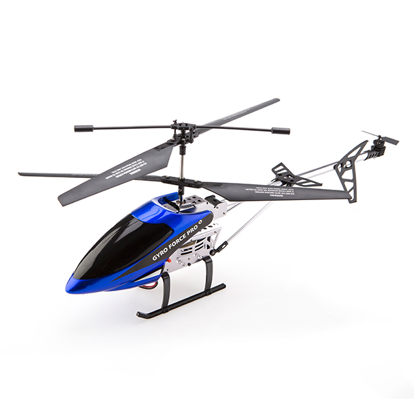 Gyro Force PRO 2.4GHz Helicopter with 4 x AA Batteries Blue