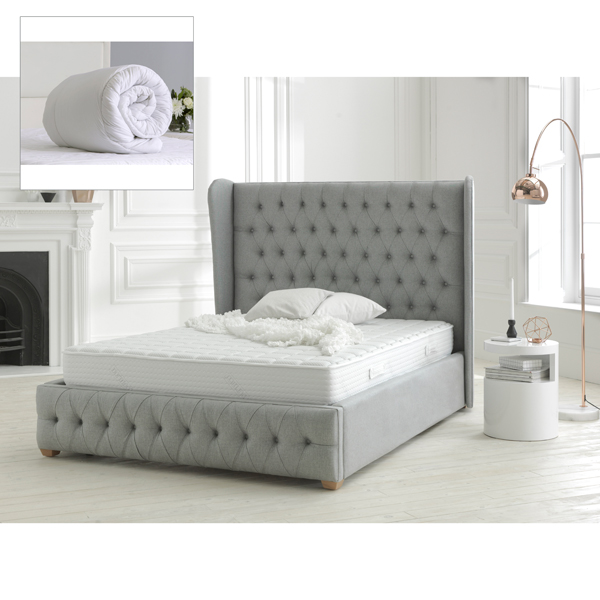 Dormeo Memory Fresh Deluxe Single Mattress with Evercomfy 13.5 Tog Duvet No Colour