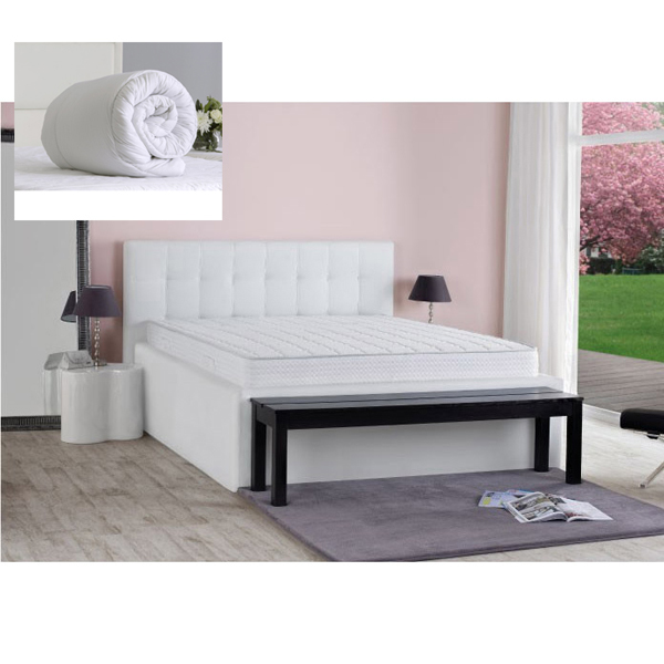 Dormeo Duo Feel Double Mattress with Evercomfy 13.5 Tog Duvet No Colour