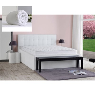 Dormeo Duo Feel Super King Mattress with Evercomfy 13.5 Tog Duvet