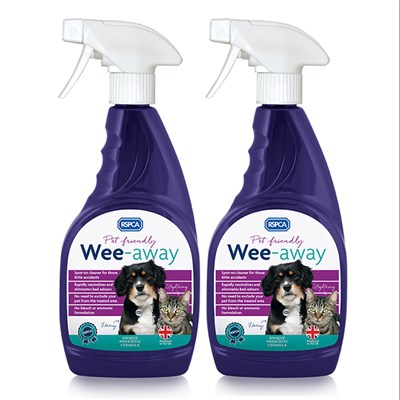 Wee Away Odour Remover 500ml Twin Pack