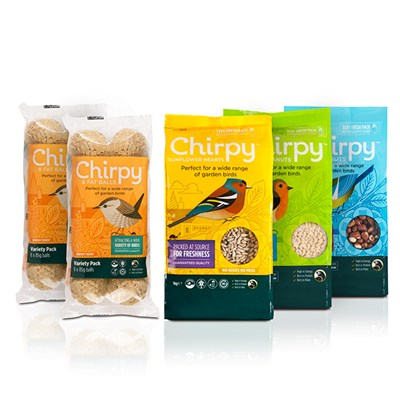 Chirpy Winter Bird Food Bundle