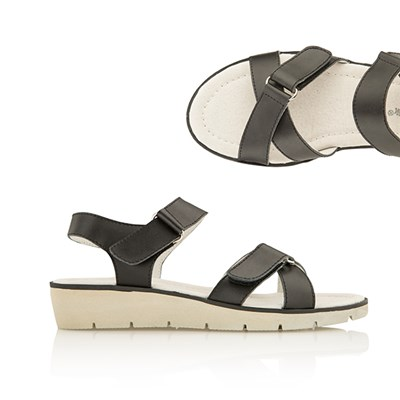 Cushion Walk Comfort Leather Sandal
