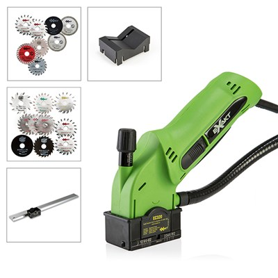 Exakt EC320 Saw with, 8 Blades, V Guide, Edge Guide and 10 FREE Blades