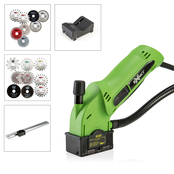 Exakt Ec320 Saw With 8 Blades V Guide Edge And 10
