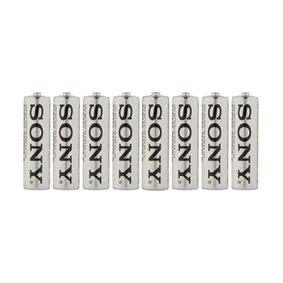 8 x Sony AA Batteries