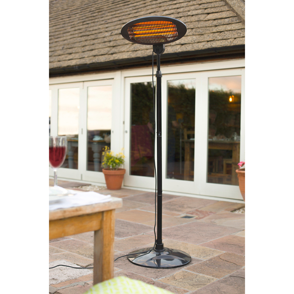 Image of 2000W Electric Patio Heater 438240